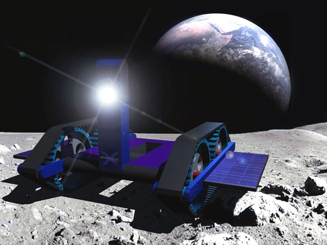 Google Lunar X Prize Teams Taking Shape