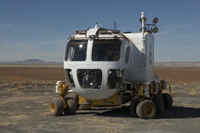 Astronauts Ride in Style in New Moon Truck