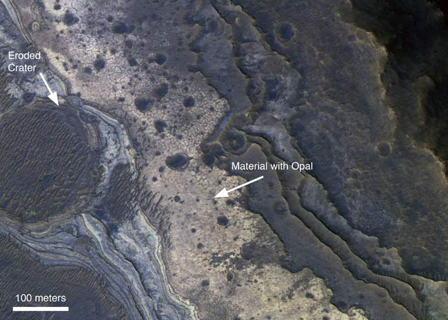 New Signs That Ancient Mars Was Wet