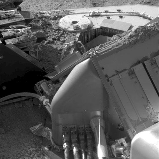 Mars Lander Starts Winter Shutdown