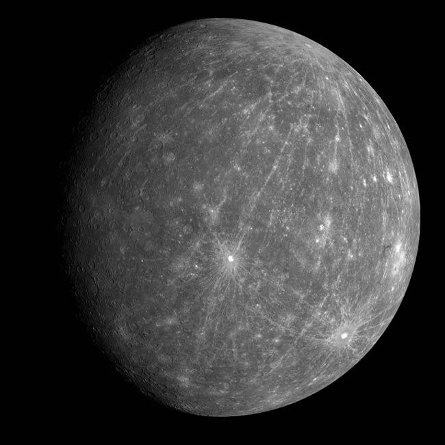 Mercury Flyby Reveals New Oddities