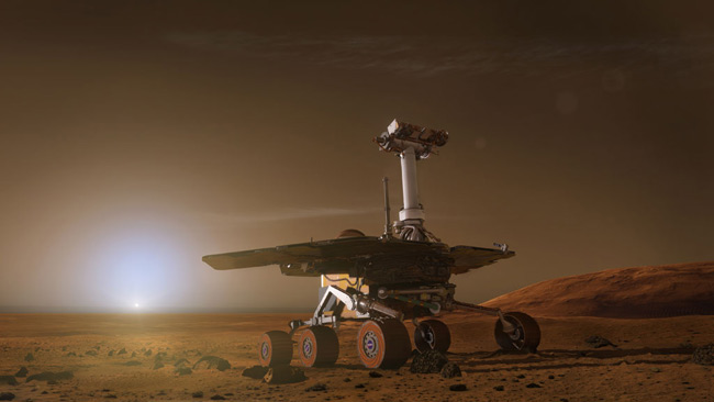 rover on mars tv - photo #2