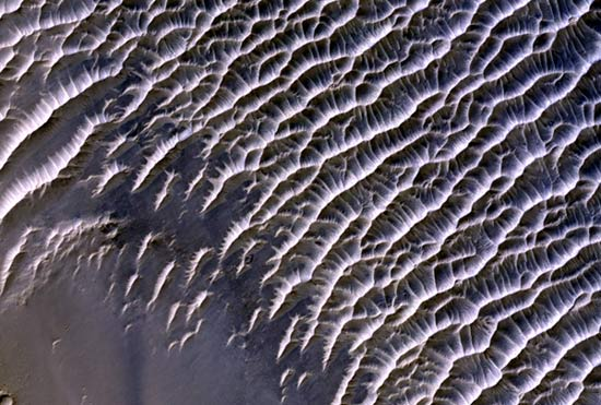 Strange Sand Ripples on Mars Explained