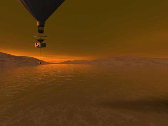 Plan to Send Hot Air Balloon to Saturn's Moon Titan