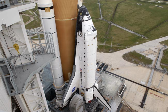 Space Shuttle Endeavour Go for Friday Launch
