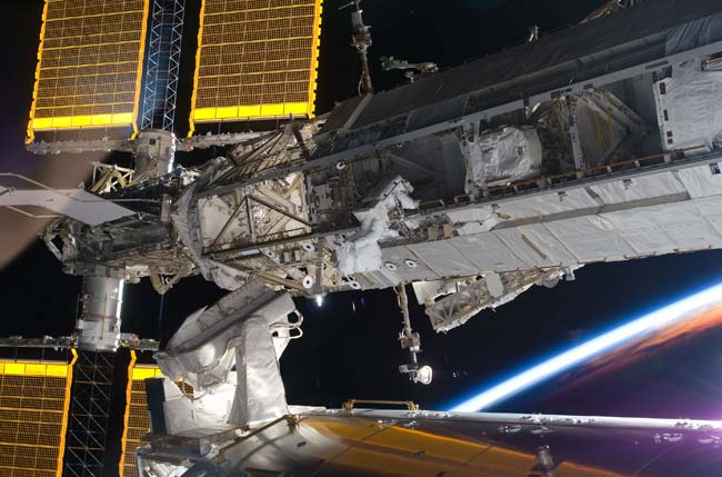 Spacewalk to Mark Space Station's 10th Anniversary