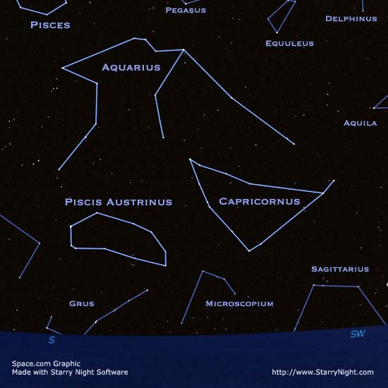 Find Fomalhaut in the Celestial Sea