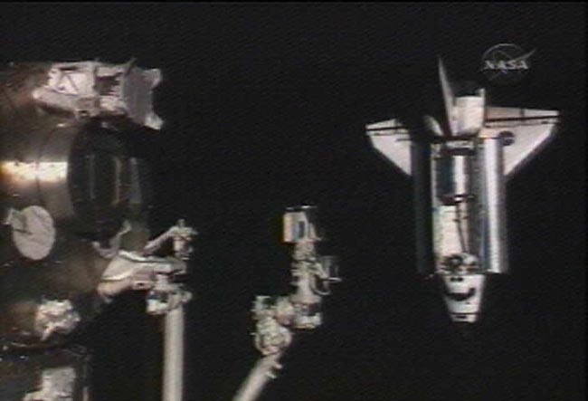 Home Improvement Crew Arrives at Space Station