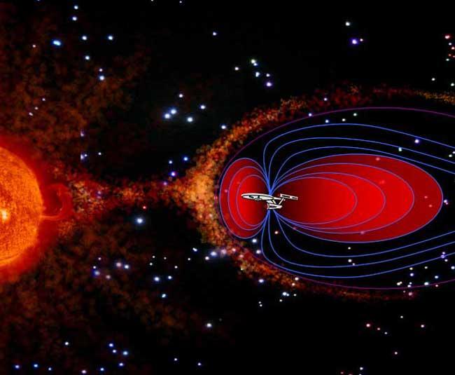 Star Trek's Deflector Shield Envisioned for Mars Mission