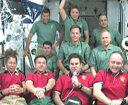 Spaceflight Going 'Wonderful' Despite Glitches, Astronauts Say