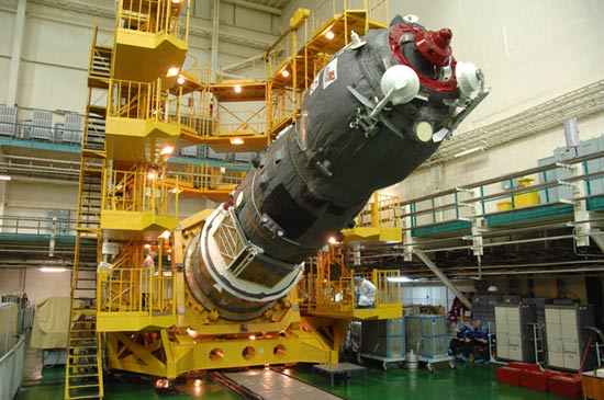 Russian Cargo Ship on Course for Space Station