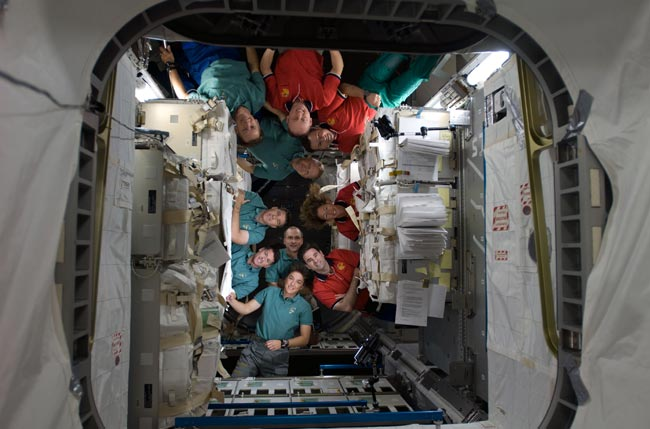 For 10 Astronauts, A Thanksgiving In Space