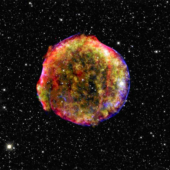New Light Shed on Ancient Exploding Star