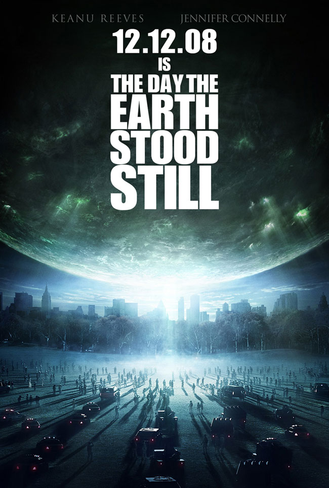 Seth Shostak on the Set of 'The Day the Earth Stood Still'