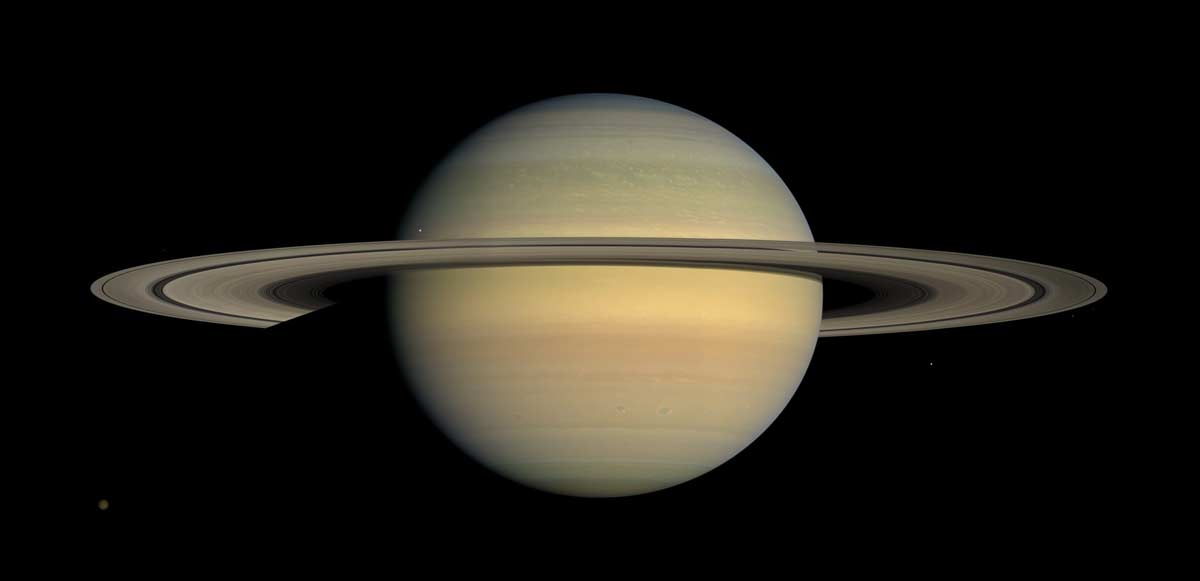 Spectacular New Images Showcase Saturn's Rings