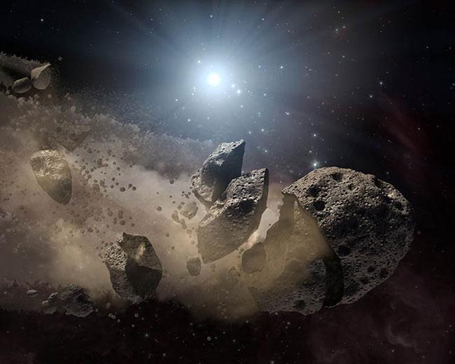Dead Stars Harbor Asteroids