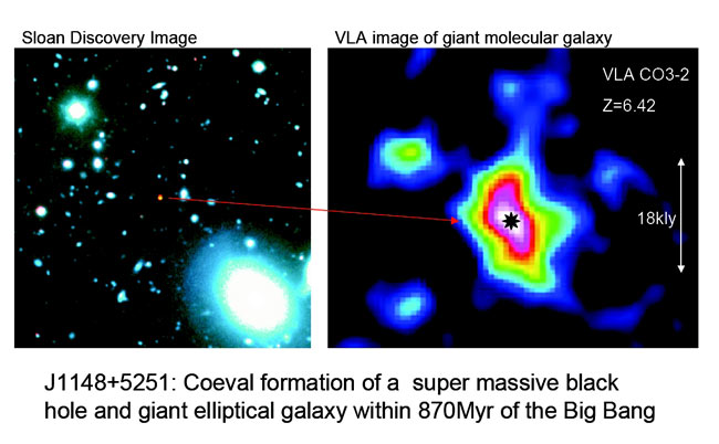 Black Holes Preceded Galaxies, Discovery Suggests