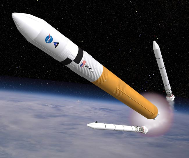 U.S. Effort to Build Heavy-Lift Rocket Inches Ahead