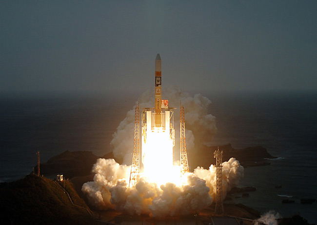 Japan Launches Satellite to Track Greenhouse Gases