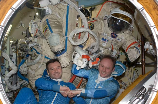 Station Astronauts Set for Tuesday Spacewalk