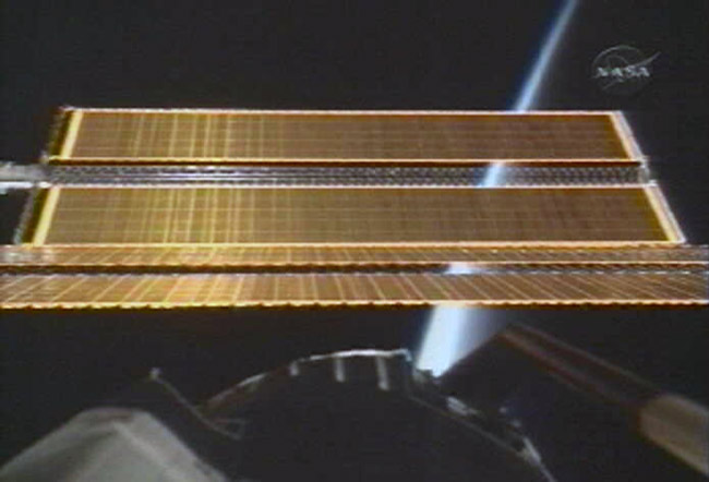 Space Station Unfurls Last Solar Wings