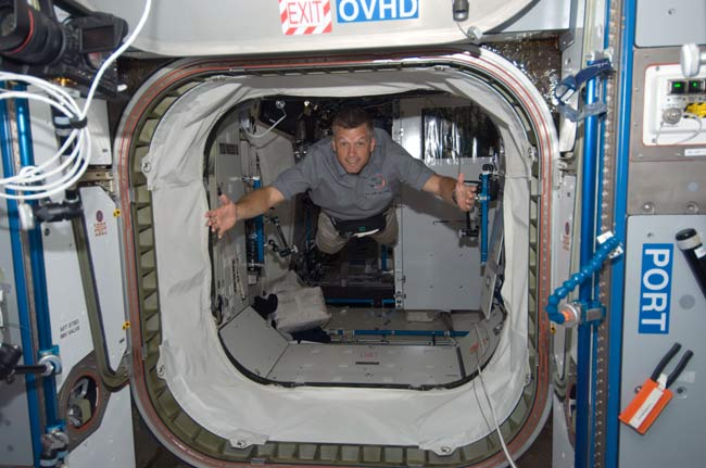 Astronauts Catch 'March Madness' in Space
