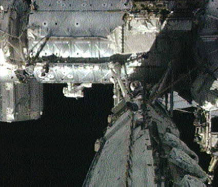 Spacewalkers Tackle Space Station Maintenance