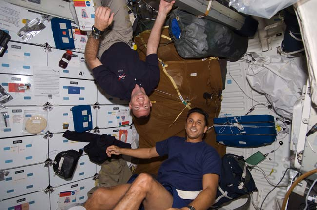 Space Shuttle Astronauts Get Time Off