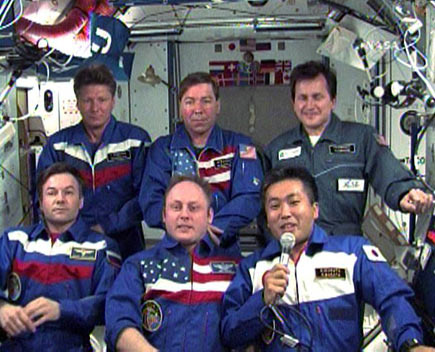 Sharing on Space Station a Must, Astronaut Says