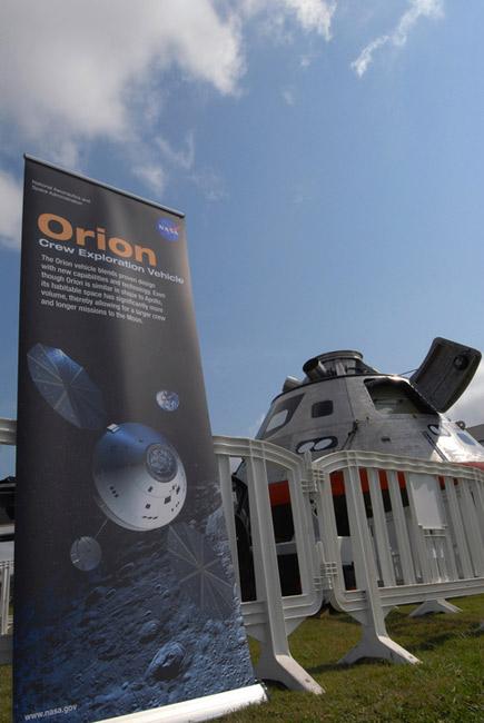 NASA Displays Moonship Prototype in Florida