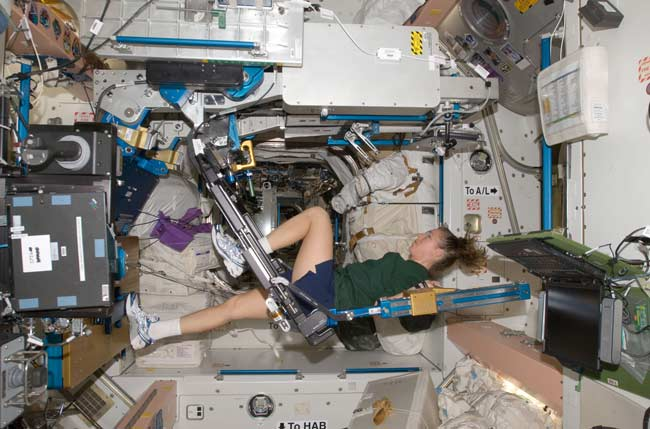 Astronauts Need Tougher Workouts in Space