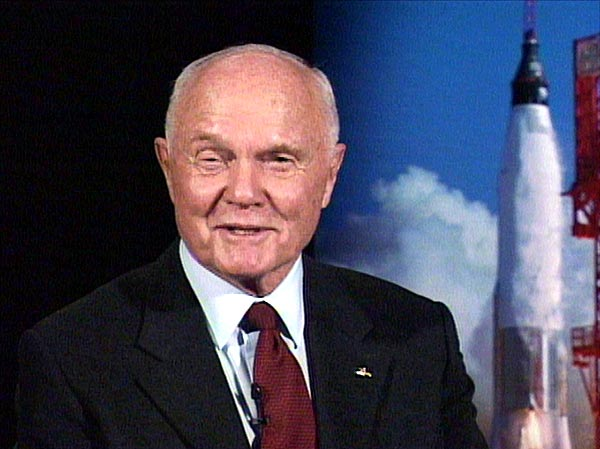 For Sale: A Lunch Date with Astronaut John Glenn