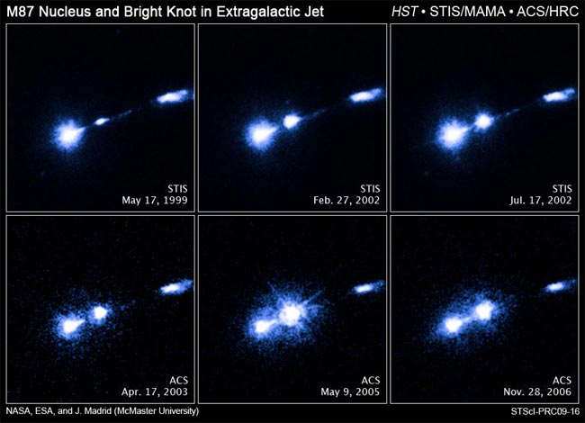 Black Hole Creates Spectacular Light Show