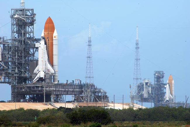 Weather Looks Good for Monday Space Shuttle Launch