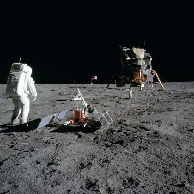 Apollo Moonshots: Conspiracy vs. Fact