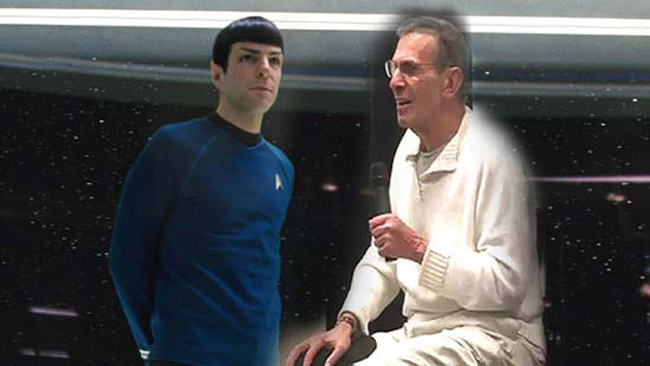 Leonard Nimoy Hangs Up His Spock Ears