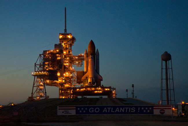 Space Shuttle Cleared for Monday Launch to Hubble