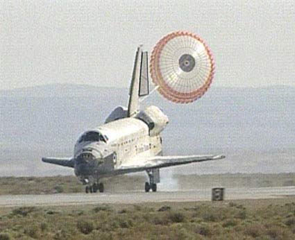 Shuttle Atlantis Lands Safely After Hubble Success