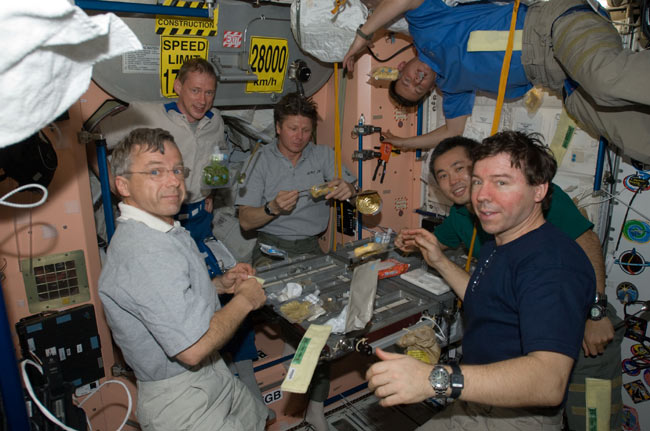 For Astronauts, No Fireworks in Space on July 4