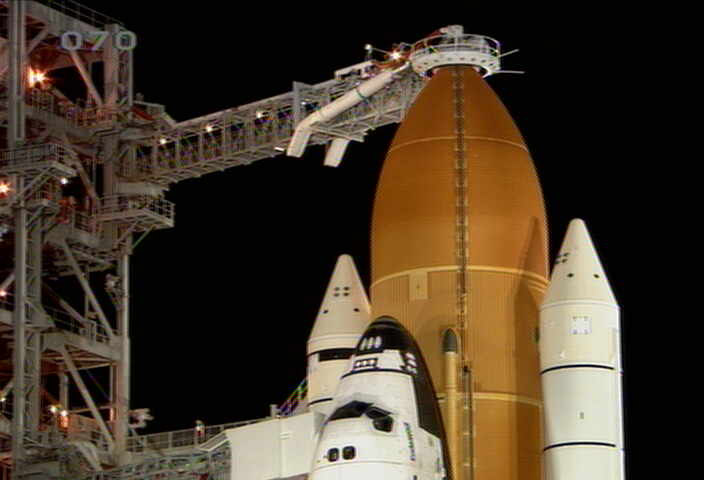 Gas Leak Thwarts Space Shuttle Launch