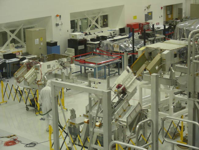 Inside a 'Clean Room': NASA Puts Mars Rover Together