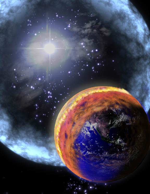 Exploding Stars: Is Earth at Risk?