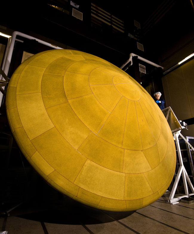 Next Mars Rover Gets Huge Heat Shield