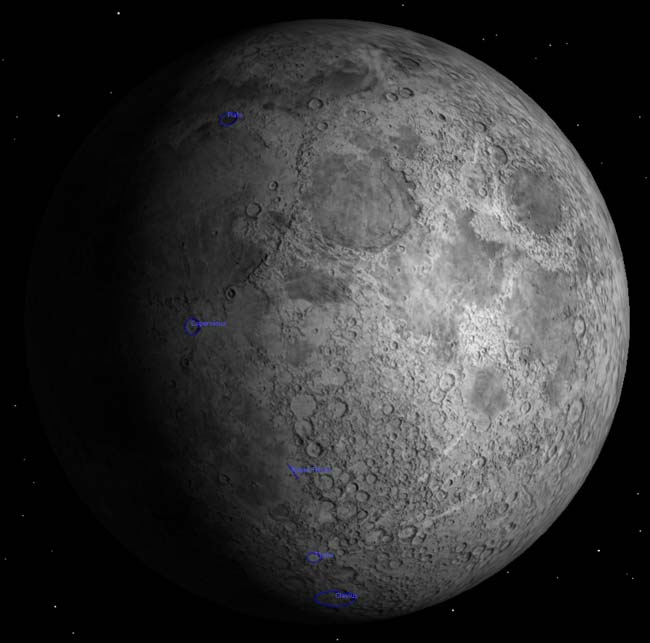 Doorstep Astronomy: Tour the 8-day-old Moon
