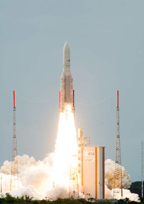 World's Largest Commercial Satellite Launched