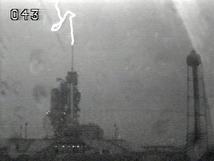 Why Lightning Struck the Shuttle Launch Pad