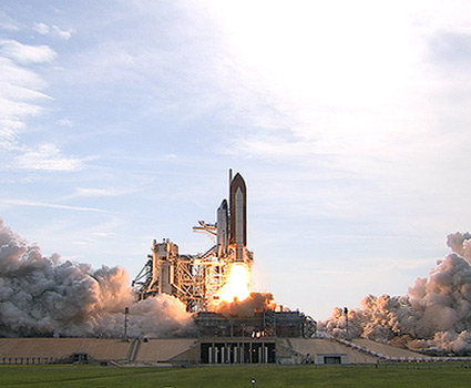 Shuttle Endeavour Blasts Off Toward Space Station