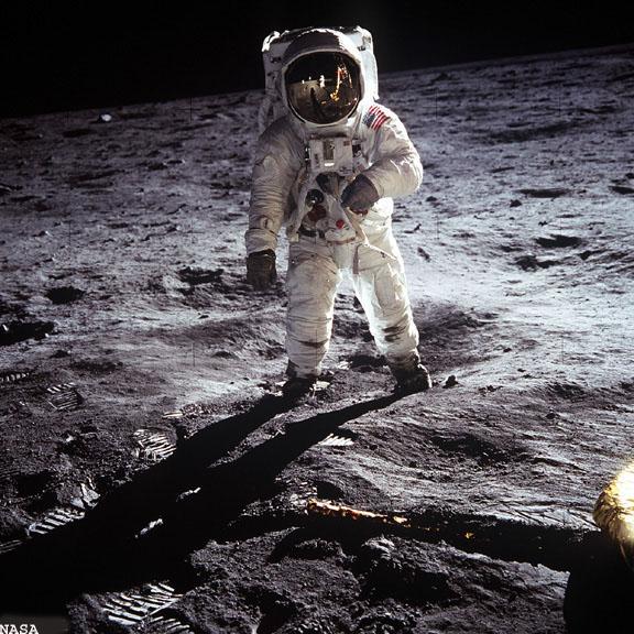Buzz Aldrin's Lunar Portrait