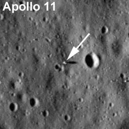 New Photos Reveal Apollo 11 at First Moon Landing Site