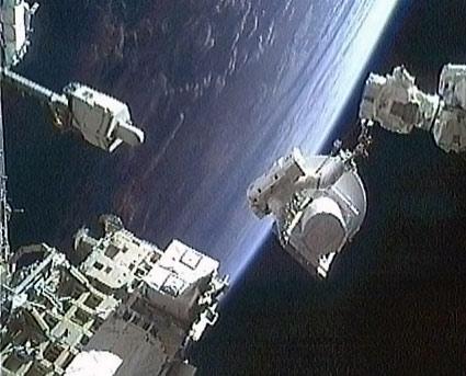 Astronauts Mark Apollo 11 Anniversary With Spacewalk
